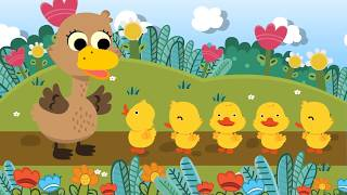 Five Little Ducks เพลงเป็ด 5 ตัว | nursury rhyme | kids song | เพลงเด็ก น้องนะโม