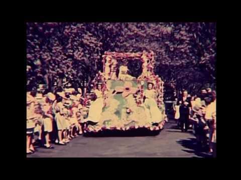 1947 Grafton Jacaranda Festival Footage