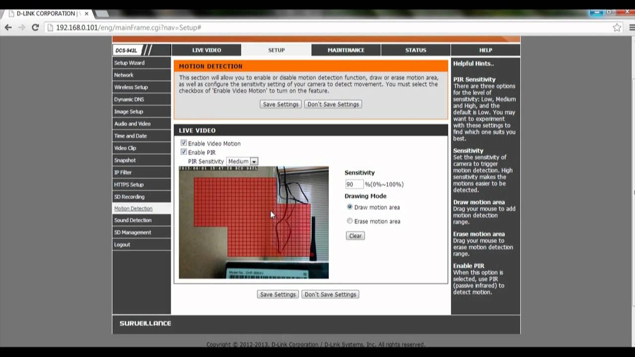 IP Camera How-To: How to Trigger Motion Detection Recording to mirco-SD Card