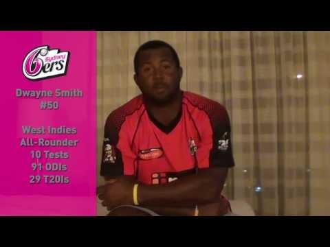 Meet Dwayne Smith, the Sydney Sixers latest signing!