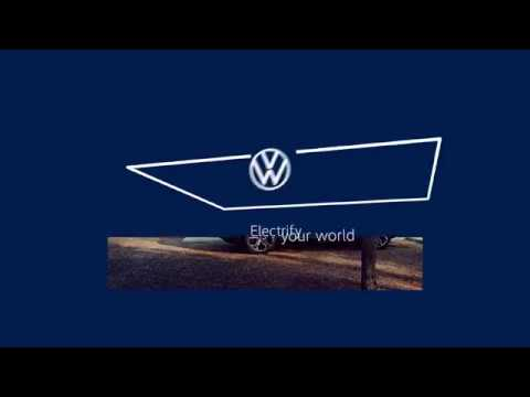 """Volkswagen's New """"Moving Frame"""" Logo and Brand Identity"""