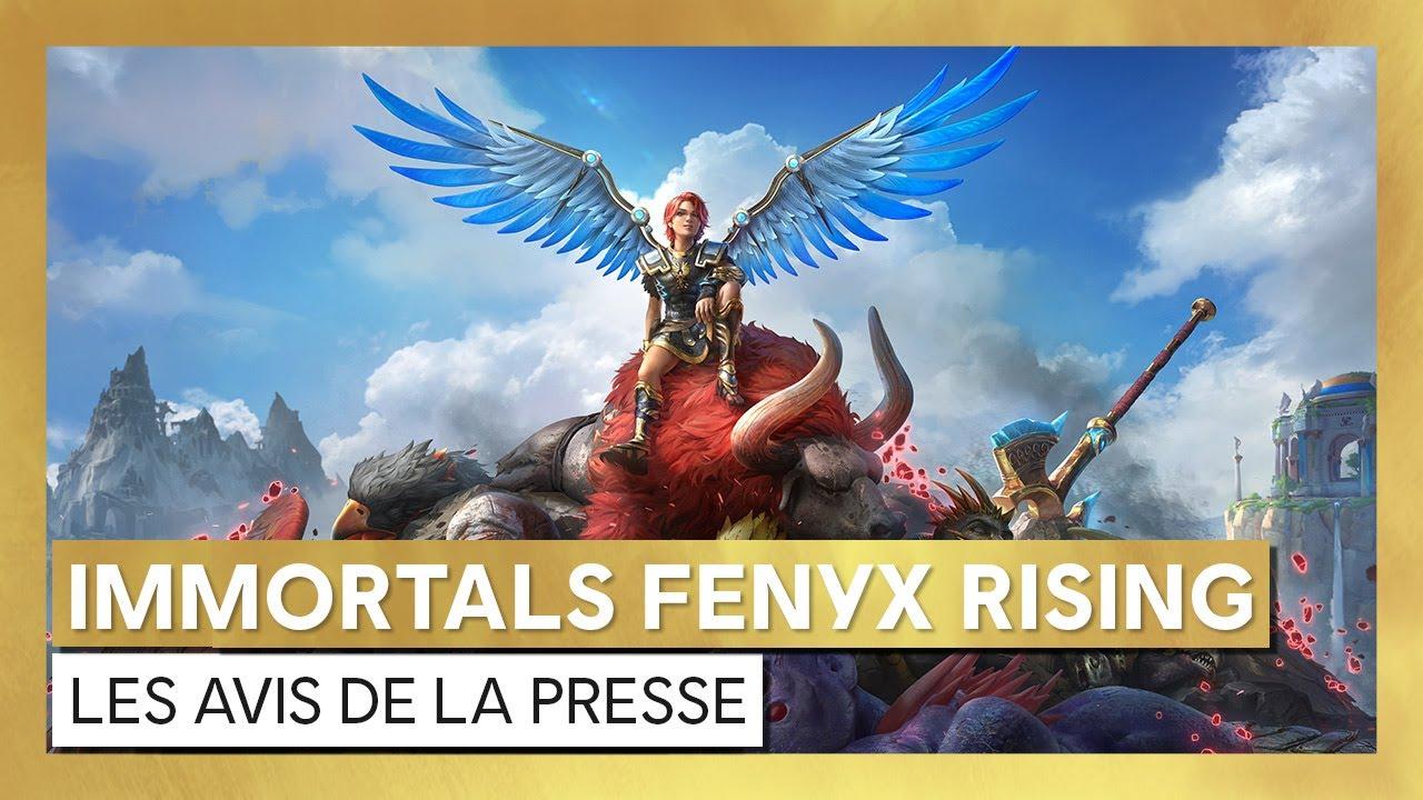 Immortals Fenyx Rising - Les avis de la presseOfficiel