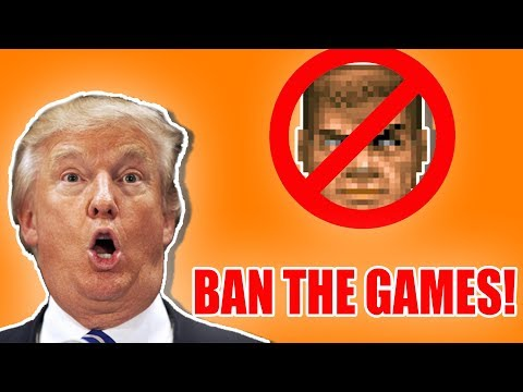 "Trump: ""Let's Blame Video Games"". How About No..."
