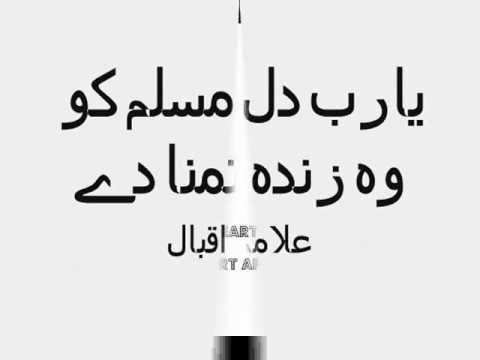 Ya Rab Dil e Muslim ko