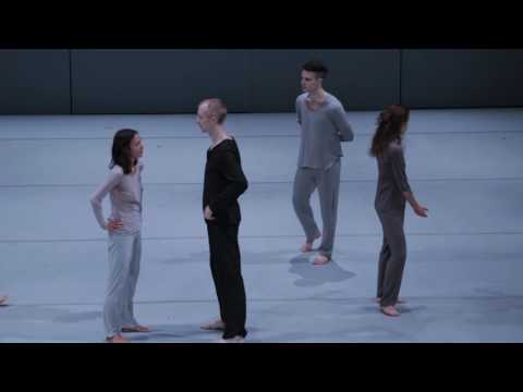 Shen Wei Dance Arts in rehearsal for Neither at BAM