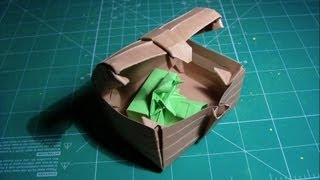 Tutorial Origami Treasure Chest (robin Glynn)