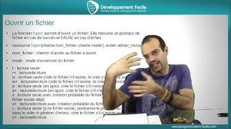 Comment lire un fichier avec PHP