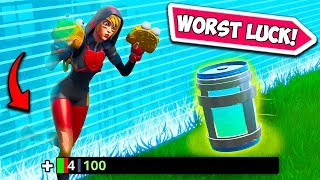 WORLDS UNLUCKIEST PLAYER EVER!! - Fortnite Funny Fails and WTF Moments! #682