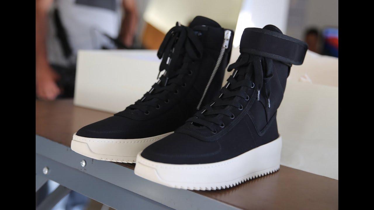 f5afe80af105 Exclusive Teaser  Fear Of God s 1st Sneaker Release - YouTube