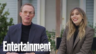 "Elizabeth Olsen & Paul Bettany Say 'WandaVision' Is ""Unlike Anything Else"" 