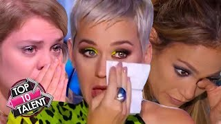TOP 10 MOST EMOTIONAL Auditions EVER On Idol Around The World!