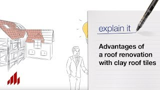 Advantages of a roof renovation with clay roof tiles by Wienerberger
