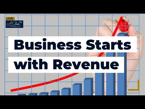 Business Starts with Revenue