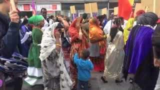 DJIBOUTI A LA MARCHE DE LA PAIX A BRUXELLES