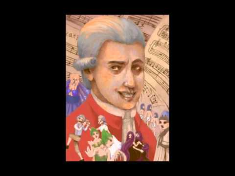 Favorite Composers in Art - Wolfgang Mozart