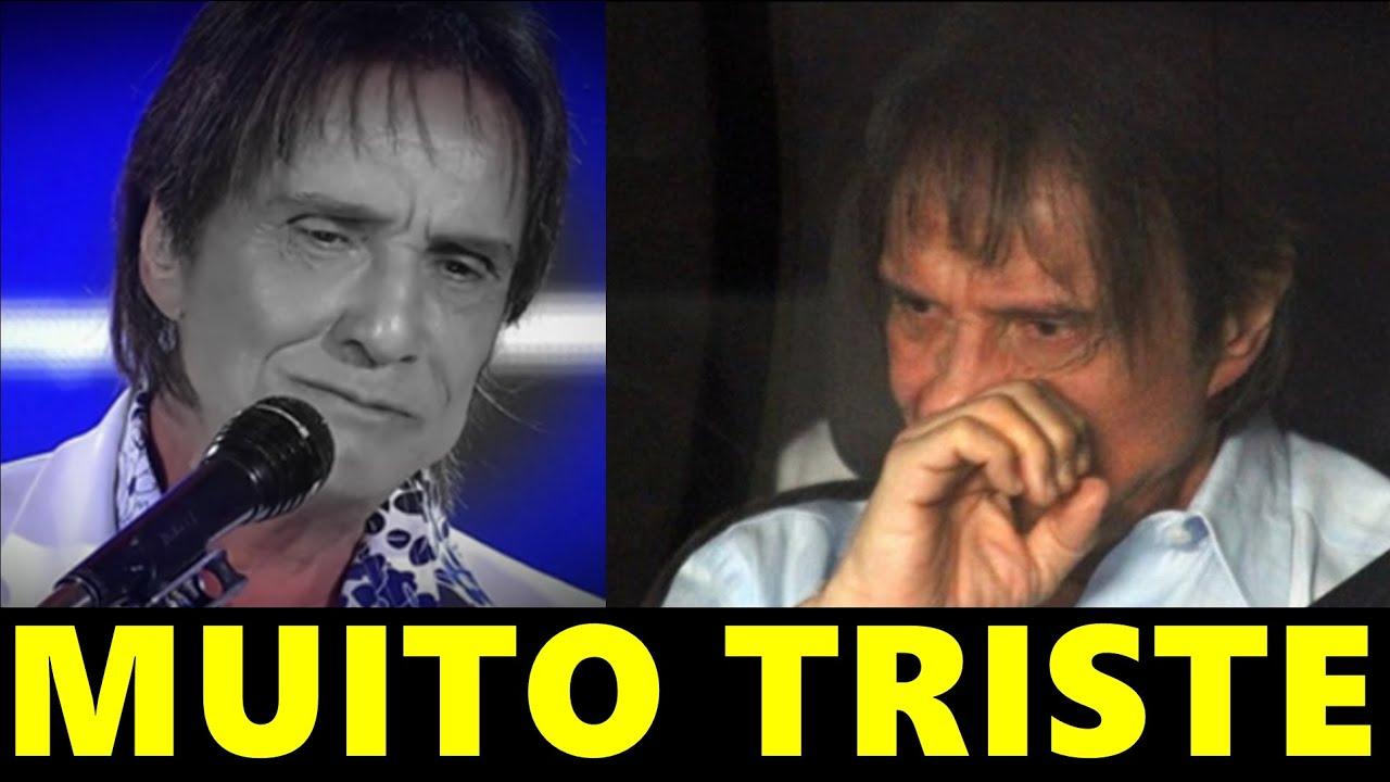 """Acaba de chegar uma triste notícia envolvendo o nosso querido Rei Roberto Carlos """"Infelizmente"""""""