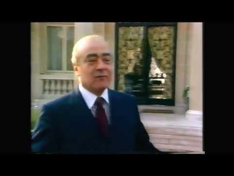 Vernon Mann ITN News - 1987 Home of Duke & Duchess of Windsor with Mohammad El Farad!