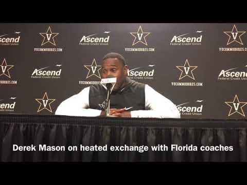 Derek Mason on fiery exchange with Dan Mullen, Florida coaches