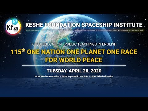 115th One Nation One Planet One Race For World Peace April 28, 2020