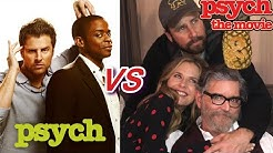Psych tv show vs Psych The Movie 2 (Then and Now)