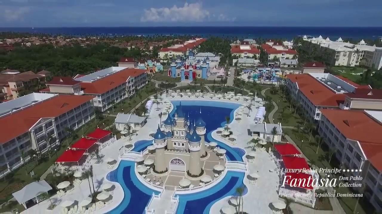 Luxhoteles luxury bahia principe fantasia youtube for Hotel luxury bahia principe fantasia