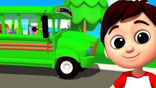 Колеса на автобусе | Дошкольные видео | Стихи для детей | Детские стишки | Образование