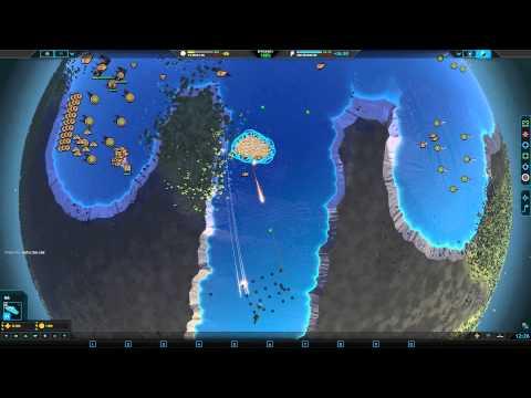 Planetary Annihilation 3v3 Team Armies - Battleship mod