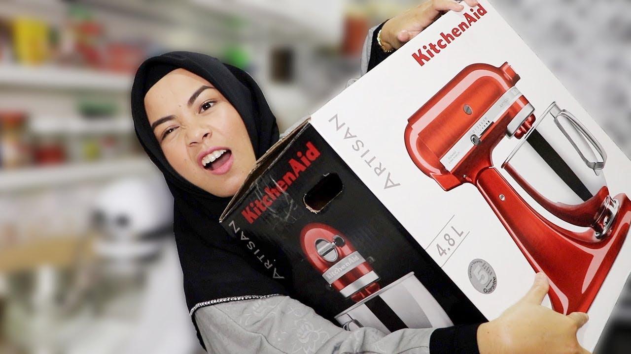 Unboxing Kitchenaid Mixer Akhirnya Beli Lagi Youtube