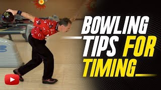 Bowling Tips for Timing - Walter Ray Williams, Jr.