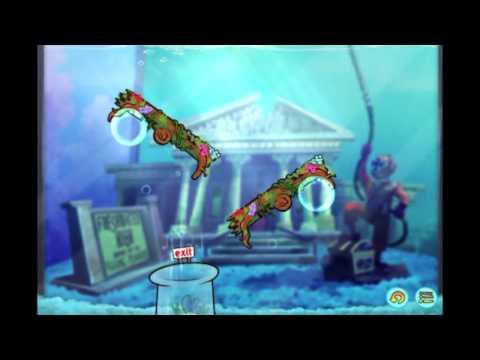 Disney Fish Hooks Level 3 Walkthrough (Freshwater High)