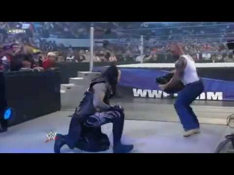 Smackdown December 4 2009:  Batista unleashed on The Undertaker