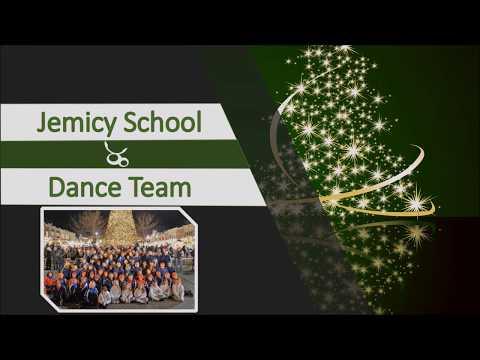 Jemicy School Dance Team Tree Lighting Performance 2018