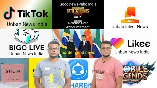 200 + Apps Unban In India 2021 ?, Tiktok, Pubg, Helo, likee, bigolive, shein, ucnews, snack ban