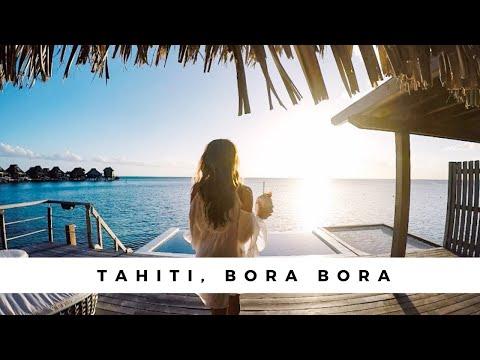 Swimming With SHARKS & WHALES - Tahiti PARADISE Vlog - Bora Bora & Moorea