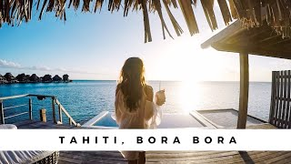 Swimming With SHARKS & WHALES - Tahiti PARADISE Vlog - Bora Bora & Moorea