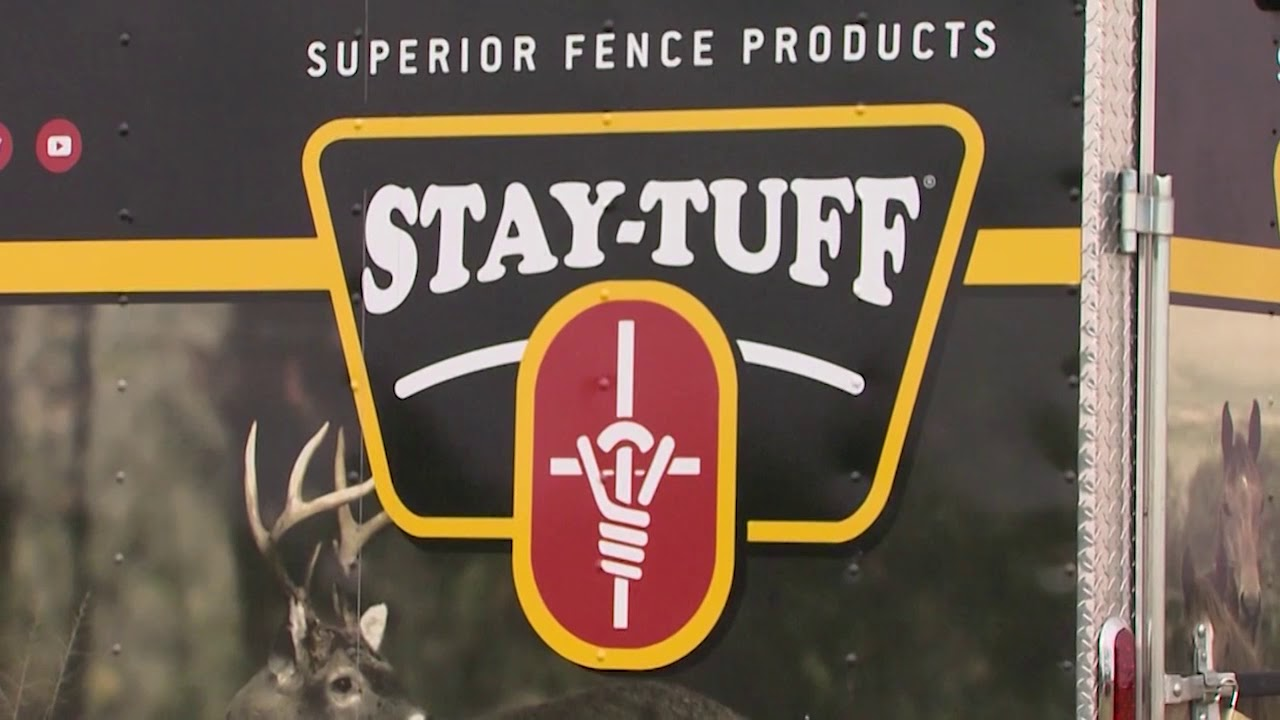 Keeping Cattle In Place With Stay Tuff Fencing Youtube