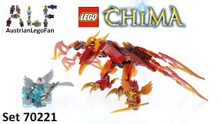 Lego Chima 70221 Flinx´s Ultimate Phoenix - Lego Speed Build Review
