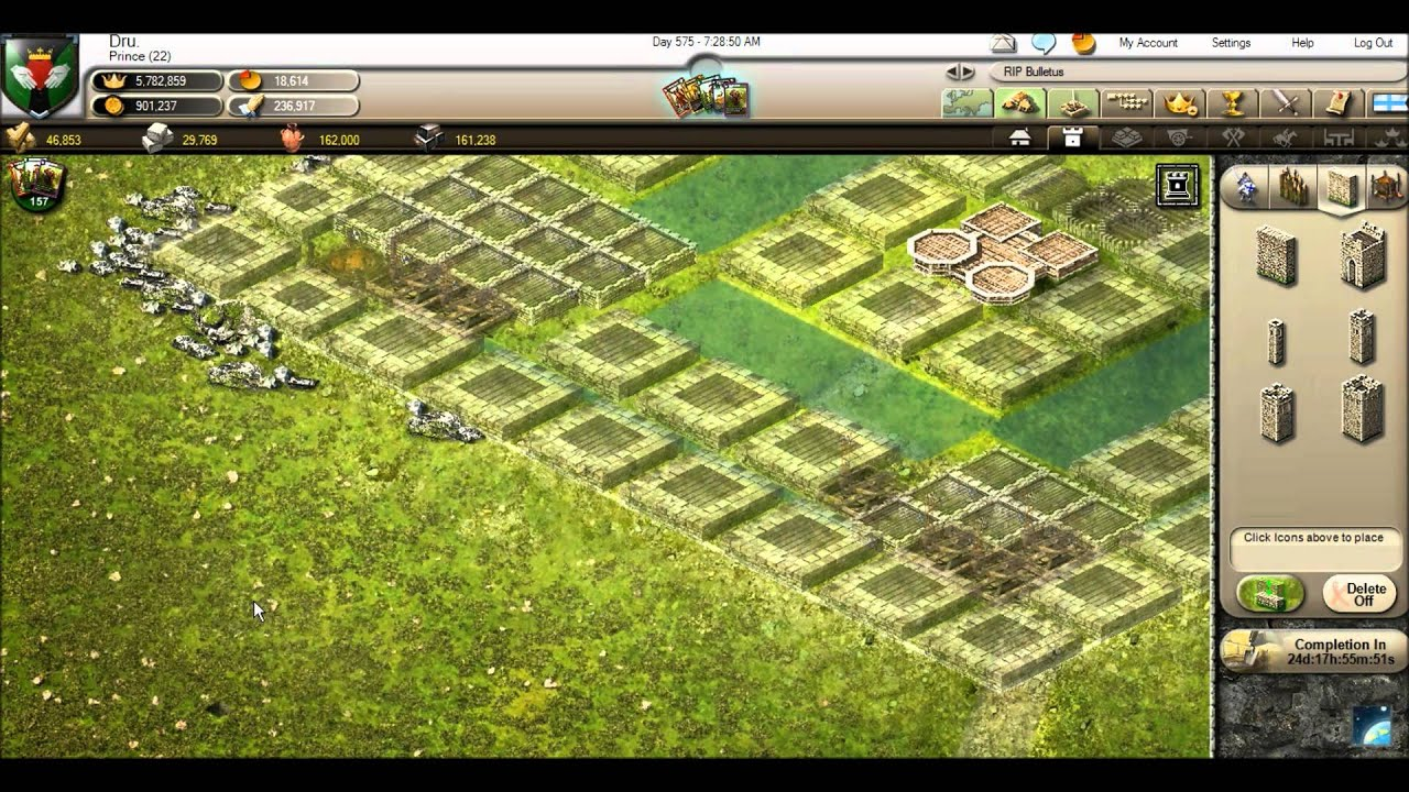 Stronghold kingdoms tutorial how to build a castle and Design a castle online