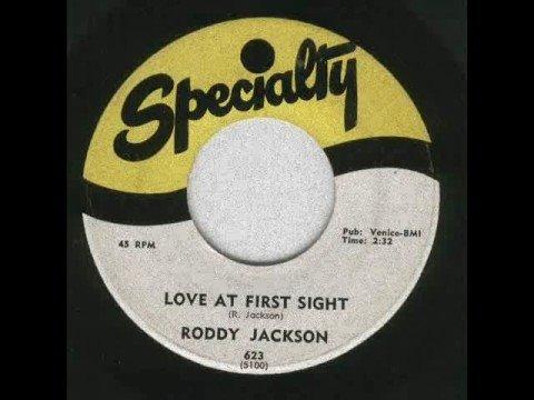 Roddy Jackson - Love At First Sight
