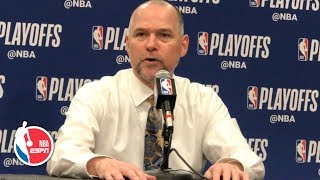 No thought of pulling Jamal Murray after struggling for 3 quarters - Mike Malone | 2019 NBA Playoffs