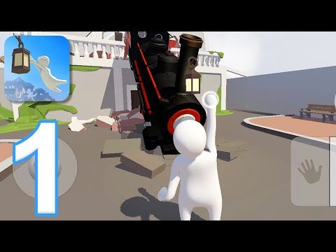 Human Fall Flat Mobile - Gameplay Walkthrough Part 1 - Levels 1-4 (iOS, Android)