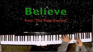 """Believe from """"The Polar Express"""" - Karaoke"""