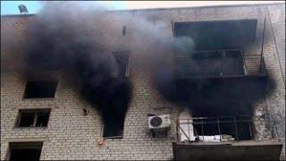 УЖАСАЮЩИЕ КАДРЫ! Донецк  Видео с места событий! Бои продолжаются  Украина, 2014