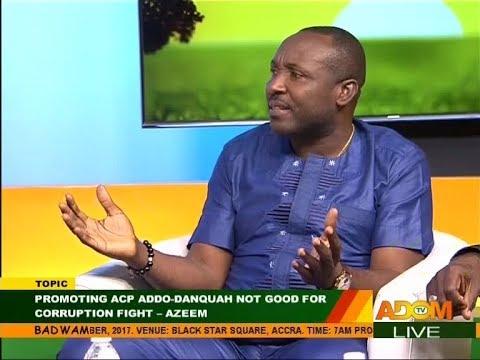 Promoting ACP Addo-Danquah... - Badwam Mpensenpensenmu on Adom TV (19-10-17)