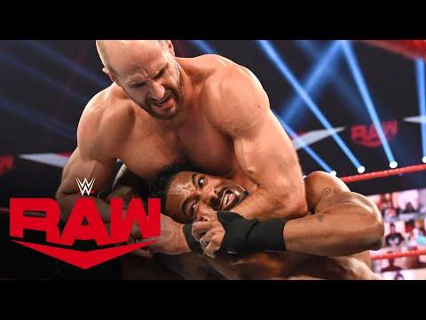 The Street Profits vs. Cesaro & Nakamura – Champions vs. Champions Match: Raw, Sept. 14, 2020