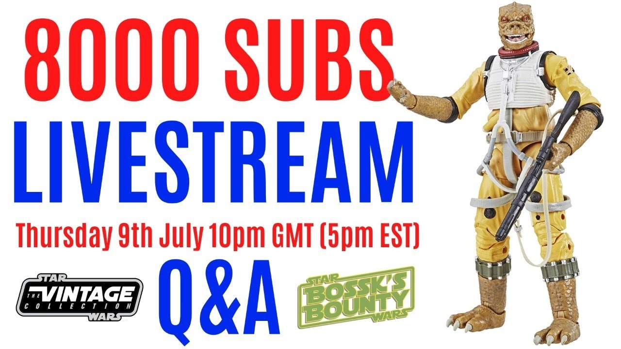 Star Wars Chat - 8000 Subscribers Livestream - general Q&A