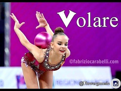#138   Volare {with words} - music rhythmic gymnastics