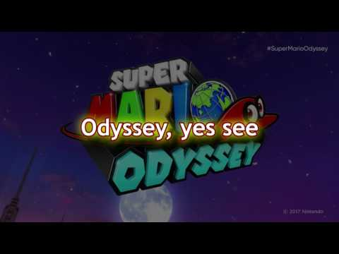 Super Mario Odyssey - I'll Be Your 1-Up Girl  (Lyrics-Karaoke) PIANO
