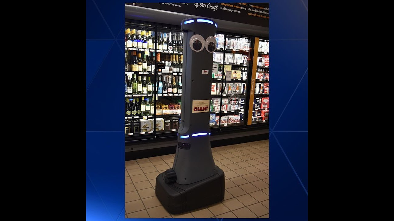 Giant Food Stores rolls robot assistant 'Marty' to all 172 stores