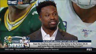 FIRST THINGS FIRST - Bart Scott IMPRESSED by Aaron Rodgers, Packers won in big against Cowboys
